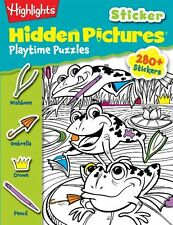 Playtime Puzzles (HighlightsTM Sticker Hidden Pictures) by Highlights