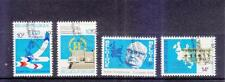 BELGIUM 1978 25TH EUROPE TRANSPORT MINISTER'S CONFERENCE COMP. SET 4 STAMPS USED