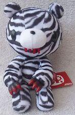 "Official Chax GP TAITO Gloomy Bear Sitting Zebra Soft Plush Toy Japan Kawaii 9"""