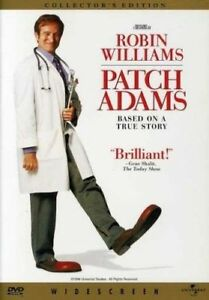 Patch Adams Robin Williams DVD Region 4 Brand New Sealed