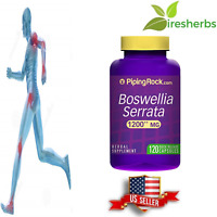 BOSWELLIA SERRATA 1200 MG JOINT SUPPORT INFLAMMATION HERBAL SUPPLEMENT 120 CAPS