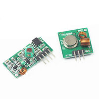 433Mhz Wireless RF Transmitter Module+ Receiver Link Kit for Arduino/ARM/MCU IH