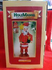 Kathe Wohlfahrt Holzknoddl German Smoker Incense Santa Toy