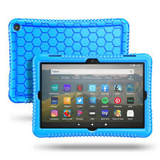 For All-New Kindle Fire HD 8 / HD 8 Plus 2020 Silicone Case Kids Friendly Cover