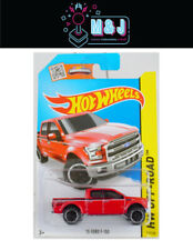Hot Wheels '15 FORD F-150 HW Off -Road  119/250 RED  (Aussie Seller)
