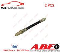 BREMSSCHLAUCH BREMSLEITUNG PAAR VORNE CENTRE ABE C80665ABE 2PCS I NEU