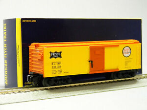 LIONEL AMERICAN FLYER FRISCO FREIGHTSOUNDS BOXCAR S GAUGE stock 2019040 NEW