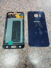 SAMSUNG S6 SCREEN SM920I BLUE (OEM) W/ BACK COVER BLUE