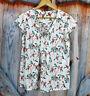 41 Hawthorn Womens Stitch Fix Floral Cute Spring Shirt Top Sz M Medium