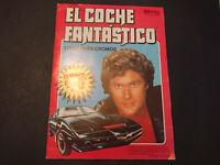 EL COCHE FANTASTICO Colección cromos Completa Editorial COMIC ROMO