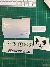 Tamiya 1/14 Truck Mercedes Actros Grill Set Decals