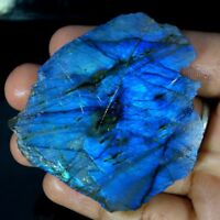 100% Natural Labradorite Blue Fire Rough Cabochon Loose Gemstone With Best Price