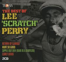 "LEE ""SCRATCH"" PERRY The Best Of 2CD BRAND NEW Trojan Dub Reggae Gatefold Sleeve"