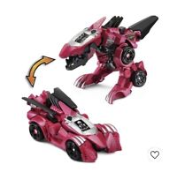 VTech Switch and Go Spinosaurus Race Car Red Transforming