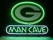 "New Nfl Green Bay Packers Man Cave Neon Light Sign 18""x14"""