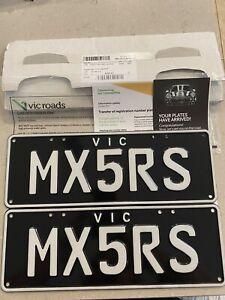 Vic plates. NEW 2021 Model. MAZDA MX5 RS.