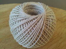 Cooking Twine String Natural :White Cotton Twine :82 metres X 3 Boxes