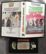 Zombie Creeping Flesh Pre Cert Merlin VHS Video Nasty DPP