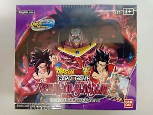 Dragon Ball Super Card Game Vermilion Bloodline B11 Booster Box Bandai Sealed