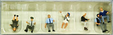 "Preiser 10406 H0 Figurines "" Bus And streetcar staff "" # New original packaging"