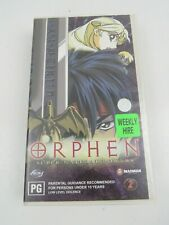 Orphen Volume Two 2 VHS 1998 Anime 2001  ex rental