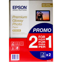Genuine Epson Paper S042169 Premium Glossy Photo Paper 255g/m² 2x15 Sheets A4