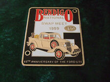GRILLE / CAR BADGE - 1934 FORD UTE - 65th ANNIVERSARY OF THE FORD UTE
