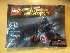 New LEGO 30447.  Marvel Super Heroes.  Captain America's Motorcycle.  CARTON 7