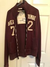 Abercrombie and Fitch Men's Jacket  XL , Cotton, Red Color, MSRP $80