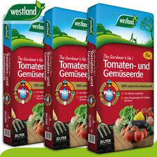 Westland 3x20 l Tomaten- und Gemüseerde »Die Nummer 1 für den Garten in England«