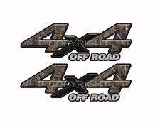 4X4 OFF ROAD WOODLAND GHOST Camo Decals Truck Stickers 2 Pack KM035ORBX