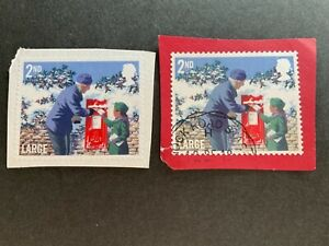 GB Stamps 2018 1st class Large Christmas Forgery stamp fine used