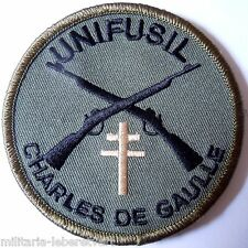 Insigne Patch AERONAVALE FUSILIERS MARINS PORTE AVIONS CHARLES DE GAULLE