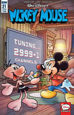 Mickey Mouse #21 Regular Cover IDW 2017