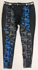 Under Armour Compression Pants Men's Size XL Black NWOT
