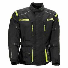 Richa Axel Motorcycle Motorbike Textile Touring Thermal Jacket - Black/Fluo