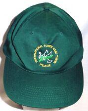 "an original Australian Army International Force East Timor ""PEACE"" Ball Cap"