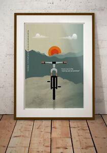 Nino Schurter - Mountain Bike Quote cycling biking racing A3, A2, Posters Prints