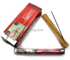 6 Box/Pack 120 Sticks total Darshan Amber Quality Incense Fragrance