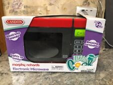 New Casdon Morphy Richards Toy Electronic Microwave