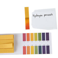 80 pH Indicator Test Strips 1-14 Paper Litmus Tester Laboratory Urine & Saliva