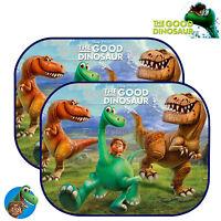 2x Disney Pixar Dinosaur Kids Baby Children Car Window Sun Shades UV Visor
