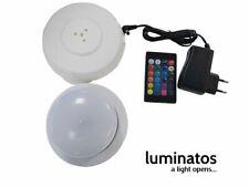 Luminatos  LED Leuchteinheit mit Ladestation Fernbedienung und Netzteil