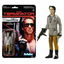 Arnold Schwarzenegger Terminator Tech Noir  3-3/4 Retro FUNKO ReAction Figure