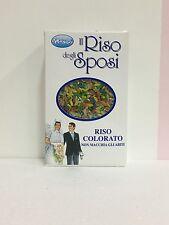 RISO PRISCO IL RISO DEGLI SPOSI COLORATO WEDDING FESTA NON MACCHIA GLI ABITI 250