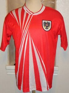VTG PUMA AUSTRIA NATIONAL TEAM ITALY WC 1990 SOCCER JERSEY FOOTBALL SHIRT RARE