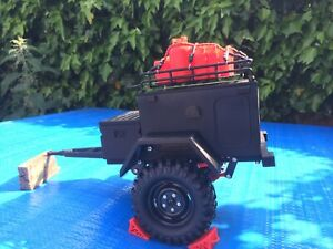 RC Crawler Trailer 1/10 scale + Accessories