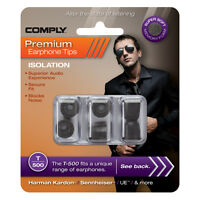 Comply T-500 Foam Eartips - 3 Pairs - From the UK's Only Authorized Distributor
