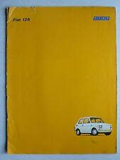 Prospetto FIAT 126 con 23 PS, circa 1973, 24 pagine, più grande DIN a4