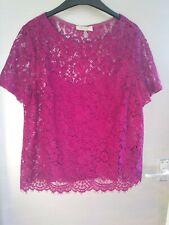 Per Una. Fuchsia Top. Size 14. New
